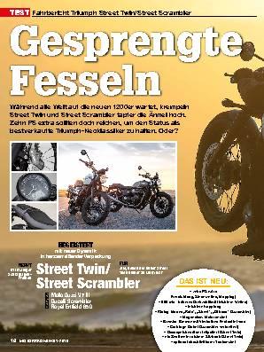 Triumph Street Twin / Street Scrambler