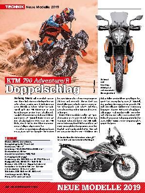 Neue Modelle 2019: KTM