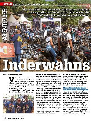 """Abenteuer: """"Rider Mania"""" in Goa"""