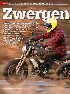 Ducati Scrambler Icon – Ducati Scrambler 1100 Sport