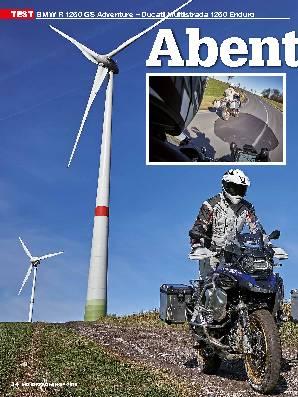 BMW R 1250 GS Adventure – Ducati Multistrada 1260 Enduro