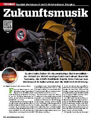 Werksbesuch bei E-Motorradbauer Energica
