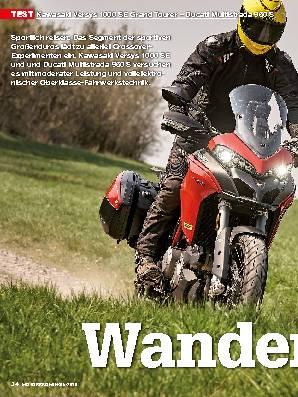 Kawasaki Versys 1000 SE Grand Tourer – Ducati Multistrada 950 S