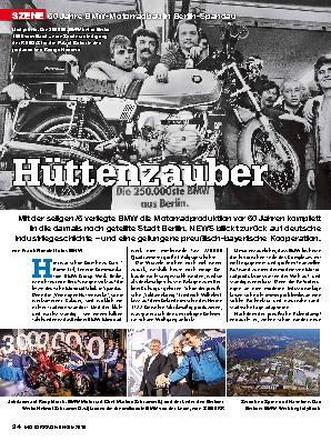 50 Jahre BMW-Motorradbau in Berlin-Spandau