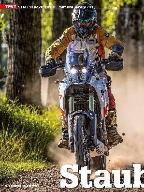 KTM 790 Adventure R – Yamaha Ténéré 700