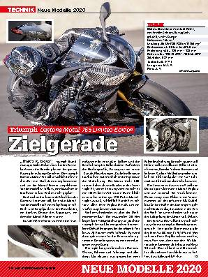 Neue Modelle 2020: Triumph / Harley-Davidson