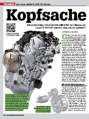 Der neue BMW-S 1000 RR-Motor