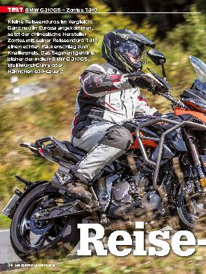 BMW G 310 GS – Zontes T 310