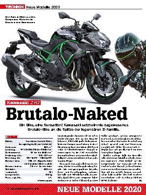 Neue Modelle 2020: Kawasaki