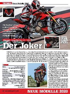 Neue Modelle 2020: Ducati