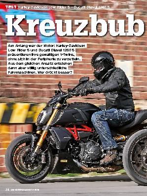 Harley-Davidson Low Rider S – Ducati Diavel 1260 S
