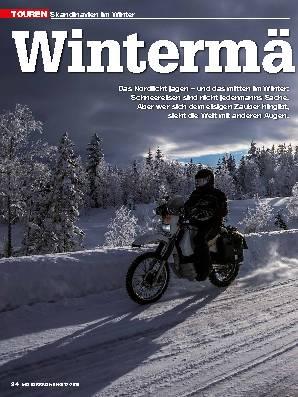 Skandinavien im Winter