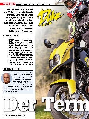 25 Jahre KTM Duke