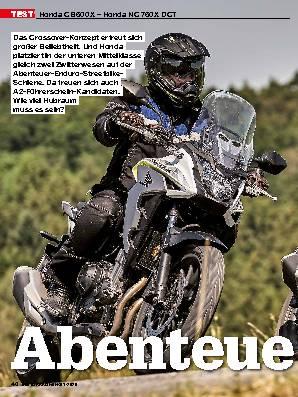 Honda CB 500 X – Honda NC 750 X DCT