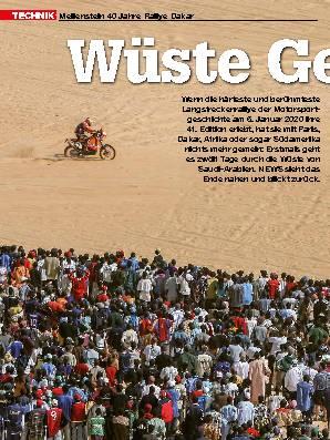 40 Jahre Rallye Dakar