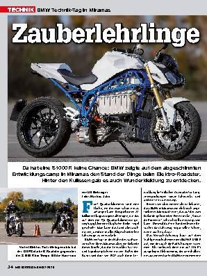 BMW Technik-Tag in Miramas