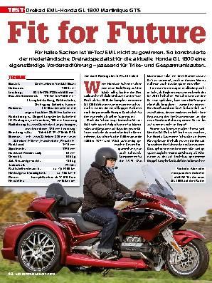 Dreirad EML-Honda GL 1800 Martinique GTS