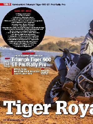 Triumph Tiger 900 GT Pro/Rally Pro