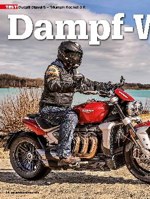 Ducati Diavel S – Triumph Rocket 3 R