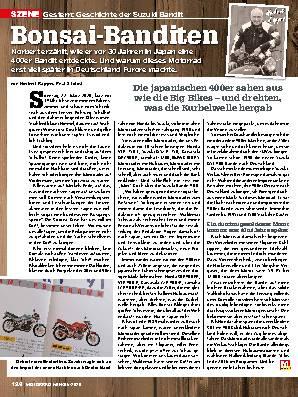 Geschichte der Suzuki Bandit