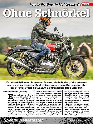 Test-Fazit Royal Enfield Interceptor 650