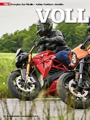 Energica Eva Ribelle – Harley-Davidson LiveWire