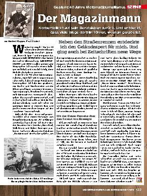 40 Jahre Motorradjournalismus