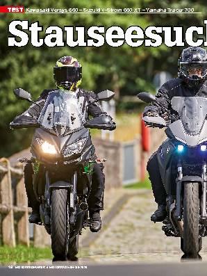 Kawasaki Versys 650 – Suzuki V-Strom 650 XT – Yamaha Tracer 700