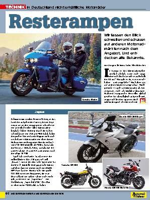 In Deutschland nicht erhältliche Motorräder