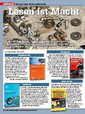 Bücher über Motorradtechnik