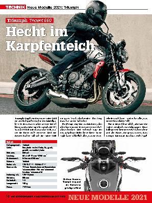 Neue Modelle 2021: Triumph