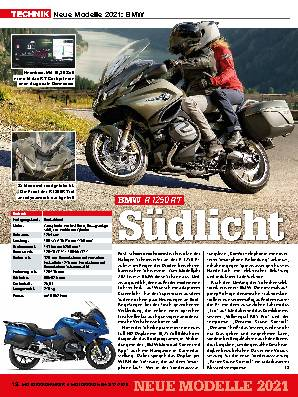 Neue Modelle 2021: BMW  / Ducati