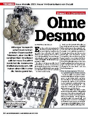 Neue Modelle 2021: Neuer V4-Granturismo von Ducati