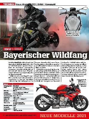 Neue Modelle 2021: BMW / Kawasaki