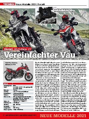 Neue Modelle 2021: Ducati