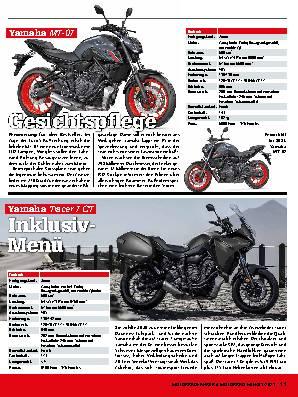Neue Modelle 2021: Yamaha