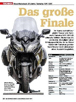 Abschiedstest: 20 Jahre Yamaha FJR 1300