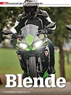Honda CBR 650 R – Kawasaki Ninja 650