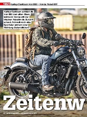 Harley-Davidson Iron 883 – Honda Rebel 500