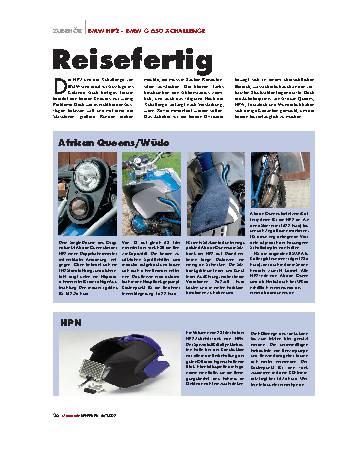 Zubehör BMW HP2 - BMW G 650 Xchallenge