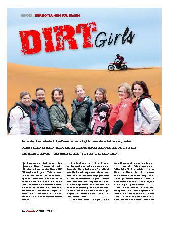 Dirt Girls - Endurotraining für Frauen
