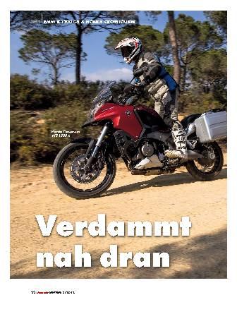 BMW R 1200 GS - Honda Crosstourer