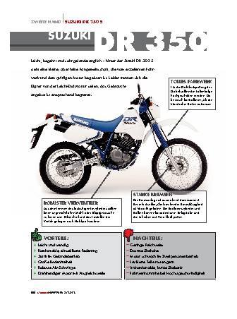 Zweite-Hand Suzuki DR 350