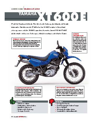 Zweite Hand XT 600 E