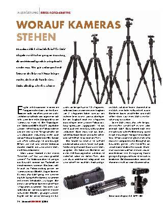 Worauf Kameras stehen