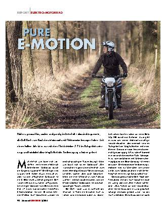 Pure E-motion