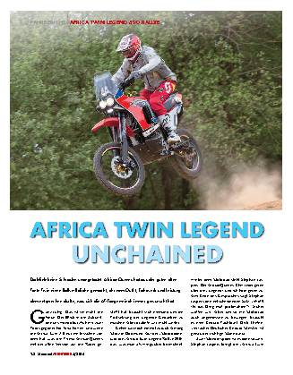 Africa Twin legend unchained