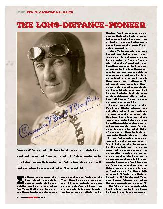 The Long-Distance-Pioneer