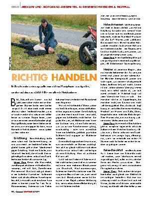 RICHTIG HANDELN
