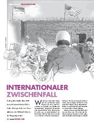 INTERNATIONALER ZWISCHENFALL